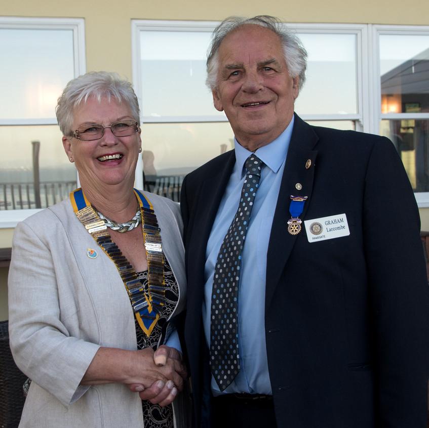 Ramsgate Rotary handover