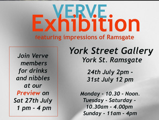 Upcoming Exhibition for VERVE