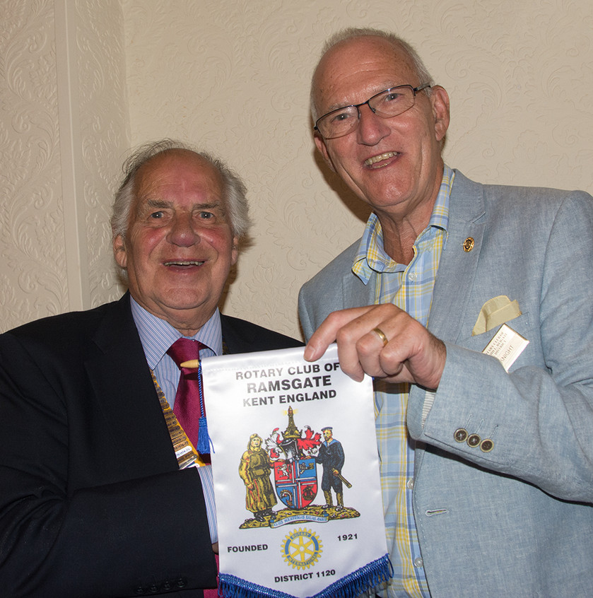 Graham Larcombe and John Knight