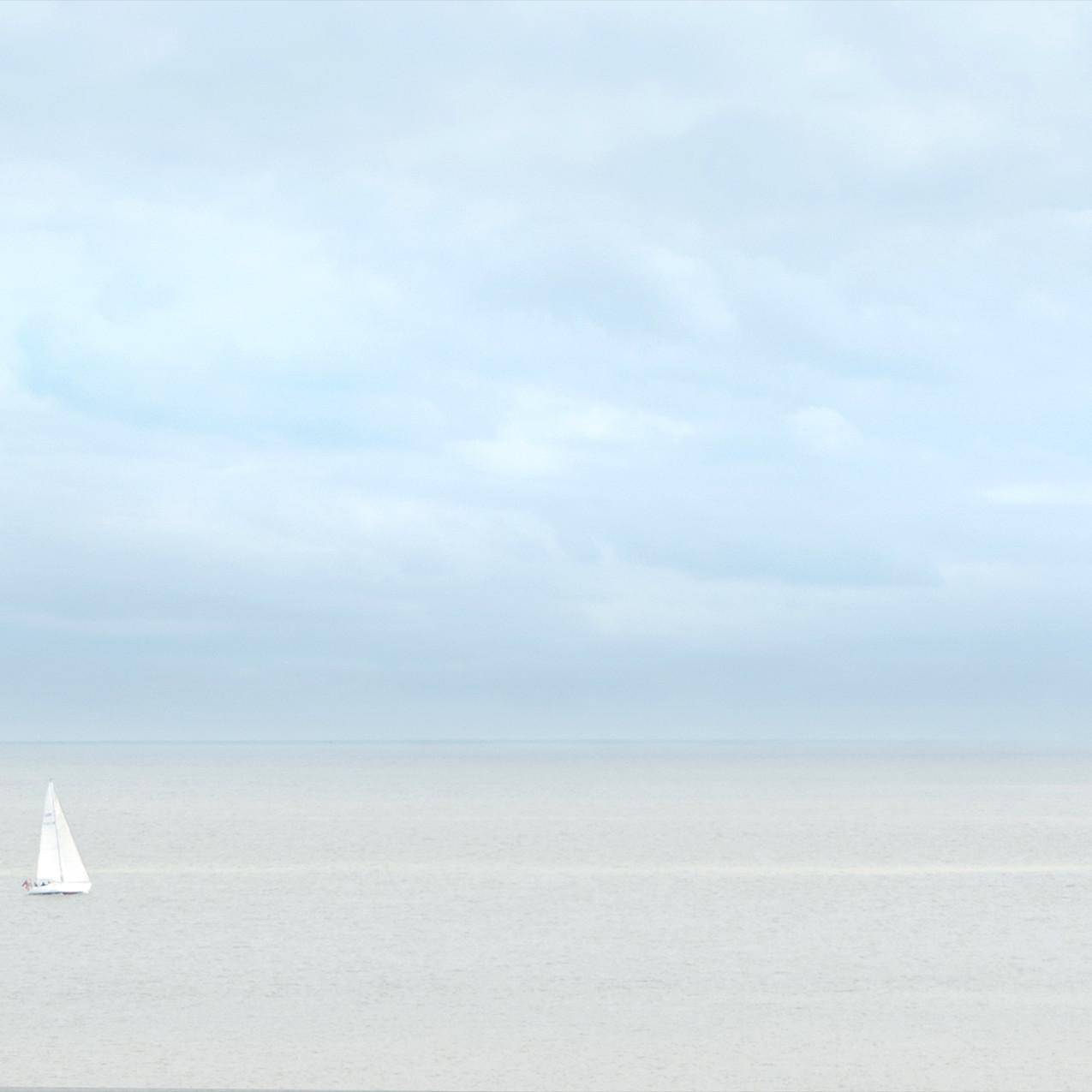 Yacht passing Westcliffe