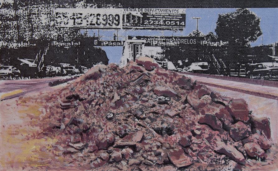 Desechos de una construcción  olvidada