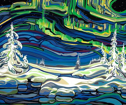 'Aurora' Kimberly Thompson Art