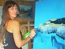 Kimberly Thompson Art Sooke Artist Painter Landscapes Vancouver Island