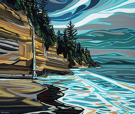 'Mystic Beach' Kimberly Thompson Art
