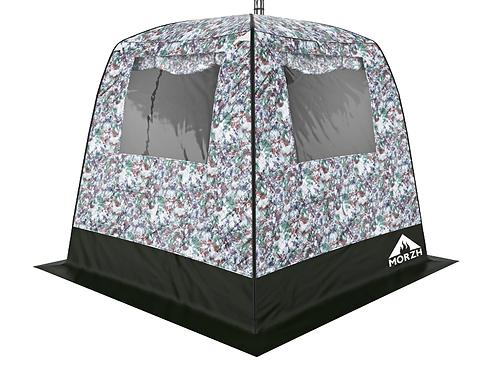 МОРЖ | Мобильная баня-палатка с 2-мя окнами
