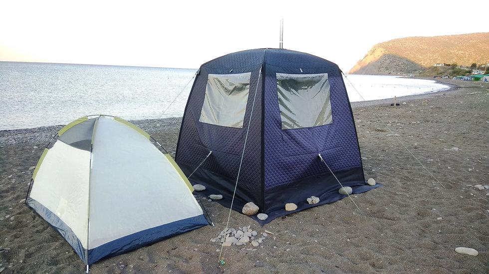 баня палатка мобиба морж мобильная