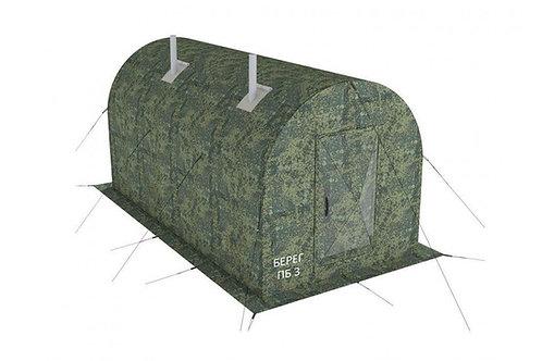 Мобильная походная баня ПБ-3 (размер 4х2 м)