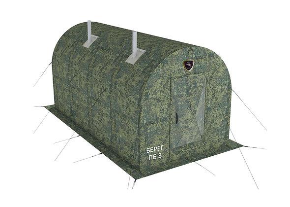 Походная мобильная баня ПБ-3 4х2 с перегородкой