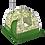 Thumbnail: Мобильная баня «КАЙФАНДРА-5» РБ-200/К5 (с печью)