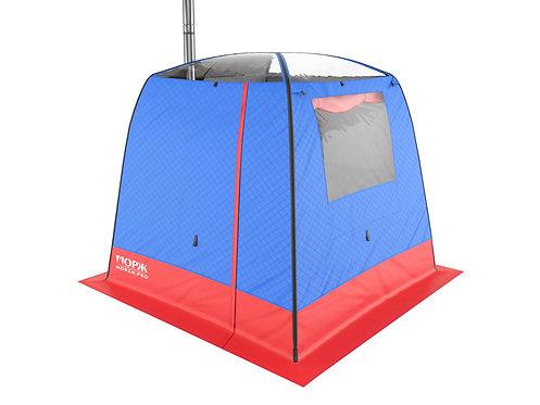 МОРЖ SKY Мобильная баня-палатка с панорамной крышей