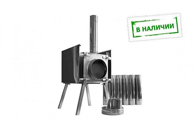 """Печь """"ЭКОНОМКА МАЛАЯ"""" съемные экраны"""