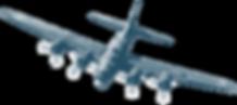 illustration of bomber plane
