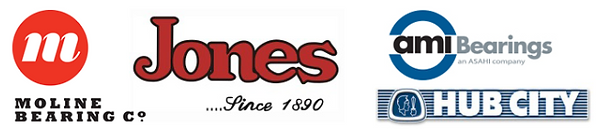 moline bearings, jones, ami bearings, hub city