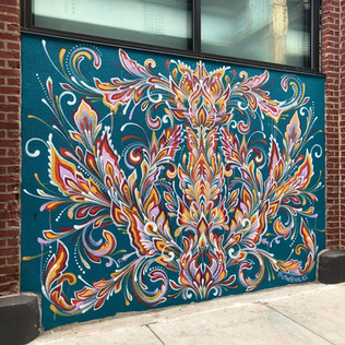 Front Street Walls mural • April 2018