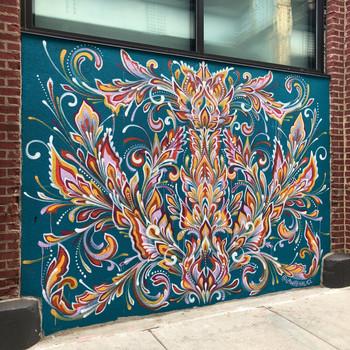 Front Street Walls Mural, 2019