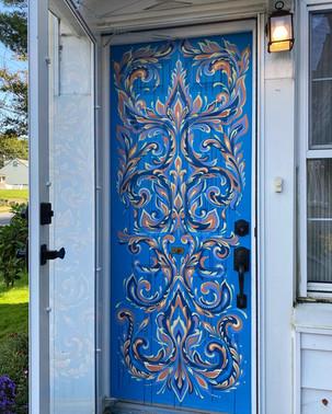 Front Door Mural Commission, 2020
