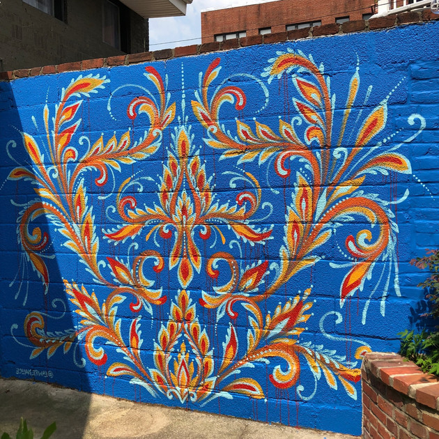 Backyard Mural Commission n.1