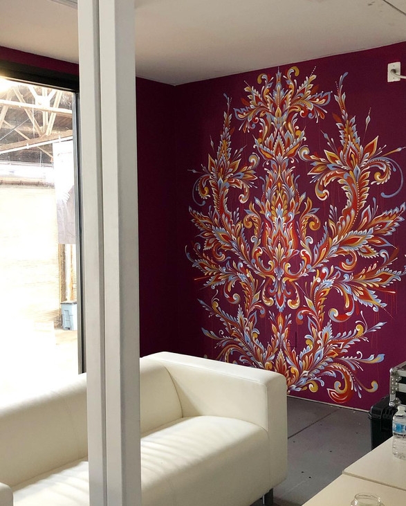 TRFE Studio Residency Wall 2, 2019