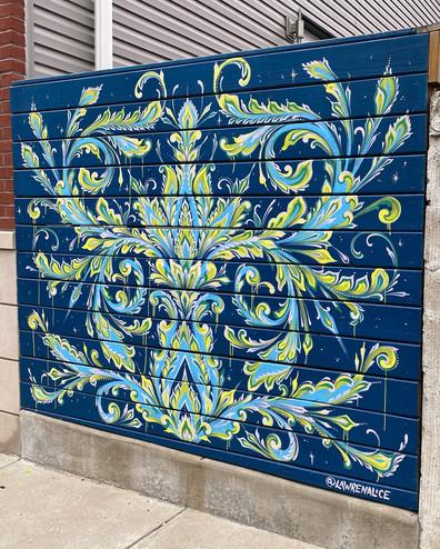 Oakdale Street Mural, 2020