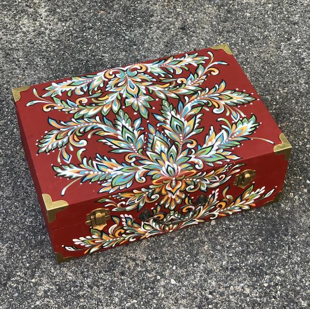 Wooden Trinket Box no.1