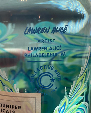 Collective Arts Distilling Gin Bottle Design