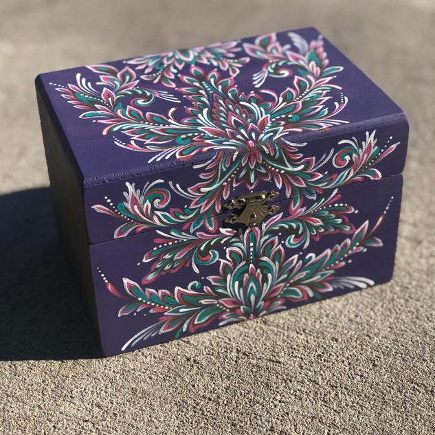 Wooden Trinket Box n.2
