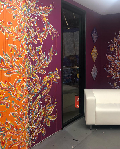 TRFE Studio Residency Wall 1, 2019