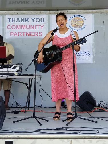 City Treasurer, Nicole Armstead at Sprin