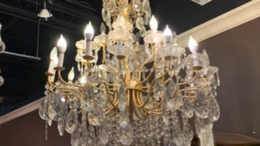 Crystal Chandeliers - Assorted models and styles