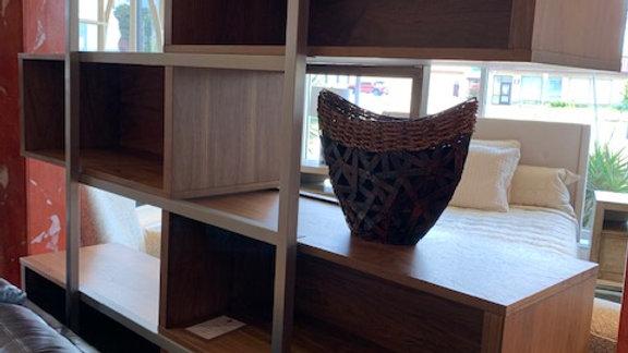Casana - Modern Sliding Bookcase