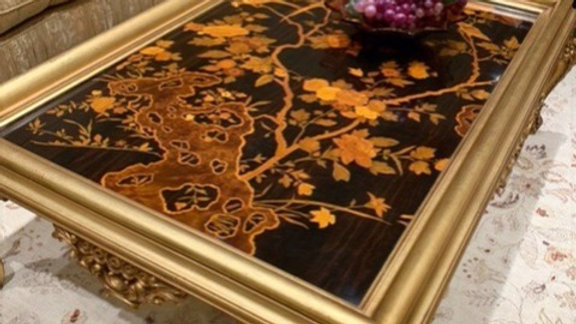 Rho Mobili - French Oriental Cocktail Table