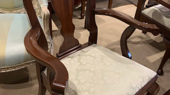 Henkel Harris - Queen Anne Arm Chair 103A