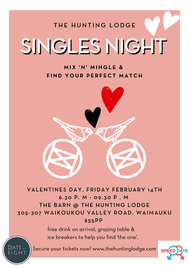 Singles Night Poster