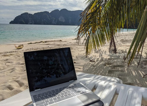 PHI PHI ISLAND IMAGE SHOWS SIDE OF BEING A DIGITAL NOMAD NO-ONE TELLS YOU ABOUT
