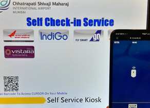 Mumbai Airport Enhances Travel Experience with Mobile-Enabled Kiosks