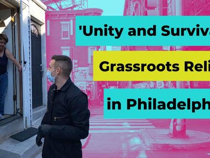 Grassroots Relief in Philadelphia