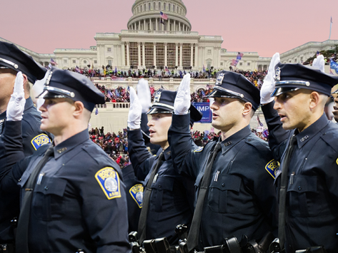 Meet the Far-Right Cops that Attended the Capitol Riots