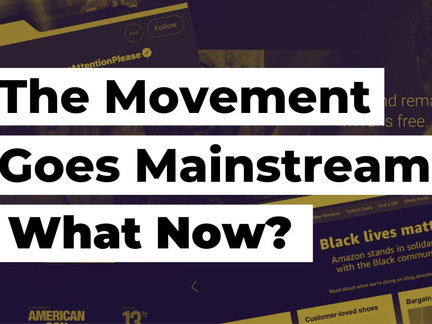 The Movement Goes Mainstream: What Now?