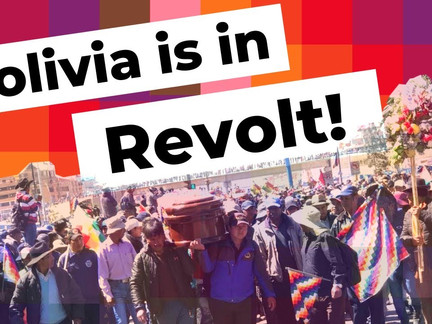 Mass Strike Hits Bolivia Against Coup Government