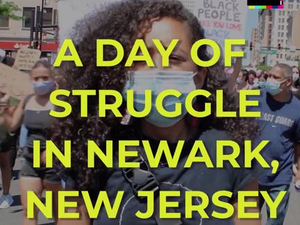Newark New Jersey Rises Up