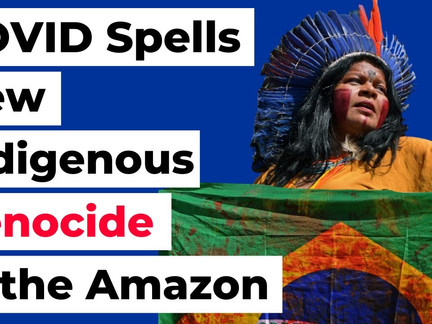 COVID Spells New Indigenous Genocide in the Amazon