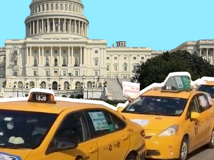 """""""No light at the end of the tunnel"""" Taxi Drivers Caravan to DC Demanding Relief"""