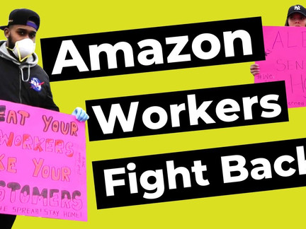 Workers to Amazon: Sanitize Warehouses or Orders Won't Ship