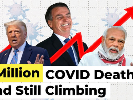 1 Million COVID Deaths, and Still Climbing