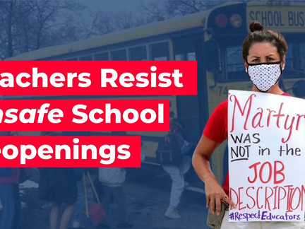 Today is the Day of Resistance Against Unsafe School Reopenings