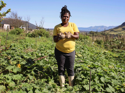 Community at the heart of hunger struggle in South Africa