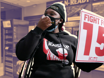 Fast Food Worker Strike for $15