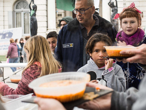 """""""What united us was empathy:"""" Community organizations help tackle hunger in Argentina"""