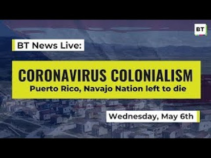 Live: Native Nations, Puerto Rico Left to Die