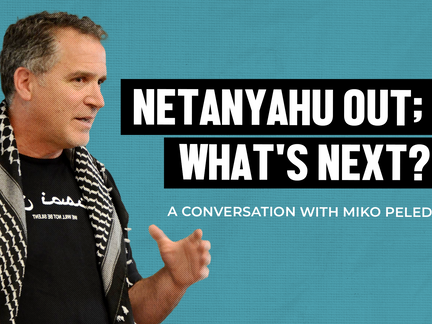 """Israeli Son of IDF General, Miko Peled, """"Show me the Palestinian extremists. I've never seen them."""""""